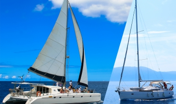 Monoscafo o Catamarano? Cosa scegliere per una vacanza