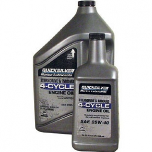 Olio Quicksilver 4 Tempi Cycle Marine Engine Sae 25W-40
