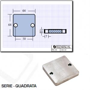 Piastra Flap Serie Quadrata