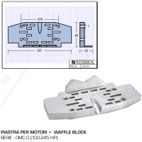 Piastra per Motori Serie OMC G 100 245 HP