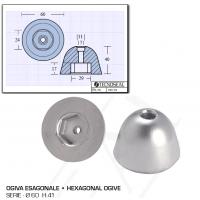 Ogiva Esagonale D 60 H 40