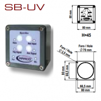 Pannello di Controllo 12/24V Fischi Elettronici Marco SB-UV