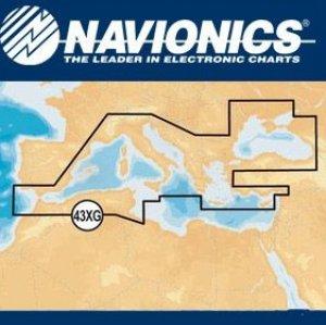 Cartografia Navionics XL9 43XG Mediterraneo