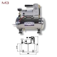Elettro Compressore Marco M3 Compatto 8 Litri