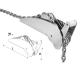 Musone Basculante Acciaio Inox Can Mod. Whale