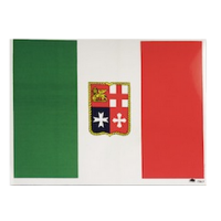 Bandiera Italiana Adesiva