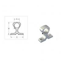 Base in Alluminio per Corrimano e Tientibene Foro Ø25mm