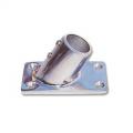 Base Rettangolare Inclinata a 60° 75 x 42 mm Acciaio Inox