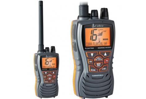 VHF Cobra Marine MR HH350 FLT EU Marino Portatile