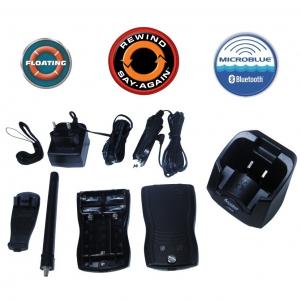 VHF Cobra Marine MR HH500 FLT BT EU Marino Portatile Galleggiante