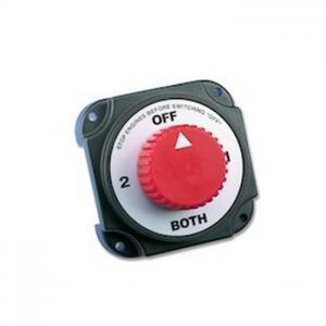 Interruttore Deviatore per Batterie Carico Max 350A a 12V in Continuo