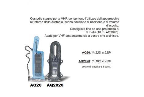Custodia Stagna Originale AQUAPAC VHF con Tracolla