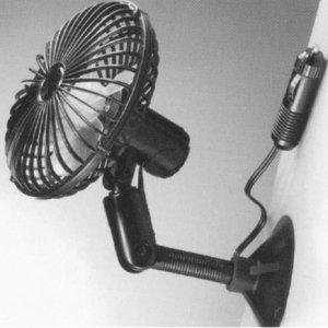 Ventilatore a Parete 12V Orientabile e Presa Accendisigari