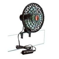 Ventilatore 12V Orientabile e Presa Accendisigari