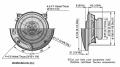 Altoparlanti Pioneer 120 w