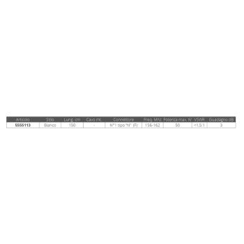 ANTENNA VHF CM.150