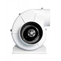 Aspiratore Centrifugo ABS Bianco 24V Fissaggio a Staffa