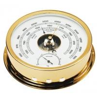 Autonautic B120D Barometro/Termometro - Ottone