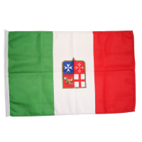 Bandiera Italiana Marina Mercantile In Stamina Di Poliestere