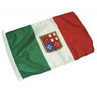 Bandiera Italiana Mercantile In Poliestere