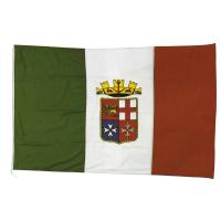 Bandiera Marina Militare Italiana In Stamina Di Poliestere