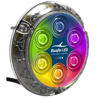 Bluefin LED Piranha P6 Nitro - Blu 12V 3200 lm