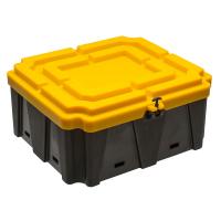Cassetta Porta Batterie in Plastica 2 Batterie