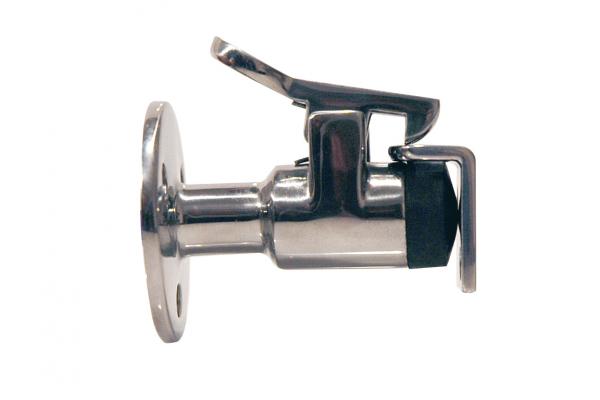 FERMA PORTA BLOCCA ANTINA 51 mm SCROCCHETTO A DOPPIA SFERA IN ACCIAIO AISI 316