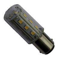 Lampadina 15 LED BA15S 10-30V Poli Paralleli