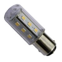 Lampadina 15 LED BAY15D 10-30V Poli Sfalasati