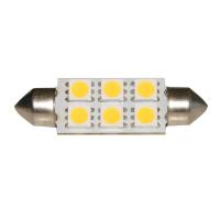 Lampadina 6 LED SMD 10-30V