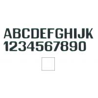 Lettere E Numeri Bianche
