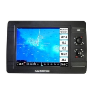 "Navigatore GPS Marino Nav-Station N12 Fish App ""Mirror Control"" e ""Captain Cloud"""