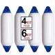 Parabordi per Barche Majoni F3 24x72 4/6 pezzi Offerta € 19,85 cad.