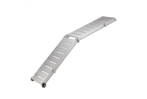 Passerella Pieghevole Leggera Pianale Alluminio Antiscivolo