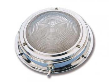 Plafoniere Con Altoparlanti : Plafoniera circolare con interruttore acciaio inox plafoniere