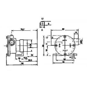Pompa PM15 Ancor Raffreddamento Motore