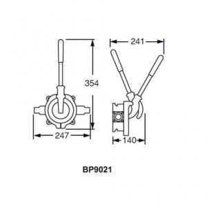 Pompa WHALE Gusher Urchin BP9005 BP9013 BP9021