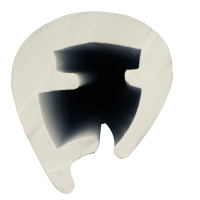 Profilo Parabordo PVC L.45