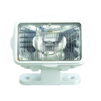 Proiettore a Luce Diffusa ABS Bianco