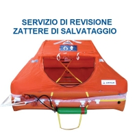 Revisione Zattera di Salvataggio Arimar ISO9650 Oltre le 12 Miglia