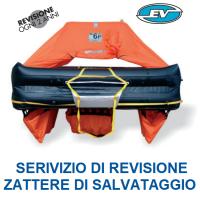 Revisione Zattera di Salvataggio Eurovinil Plastimar ISO9650 Oltre le 12 Miglia