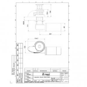 Salpa Ancora Verticale SMART 500W INOX Italwinch