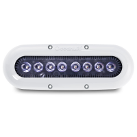 Luce Subacquea Serie X 8 LED OCEANLED