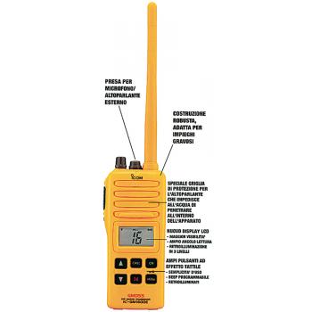 VHF IC-GM1600E
